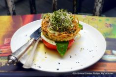'Spicy Angel Hair Pasta Caprese'    It's a salad that eats like a meal! So fun to look at...so fun to eat!