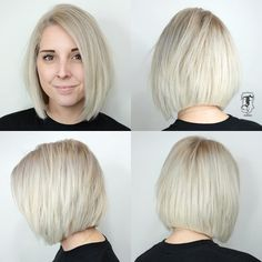 Blunt Cut Bob with Textured Layers