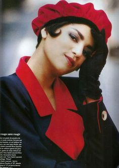 'My Tailleur is Rich' from………..Vogue Paris September 1989 feat Veronica Webb