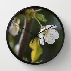 Wall Clock • 'Epleblomst' • IN STOCK • $30.00 • Go to the store by clicking the item.