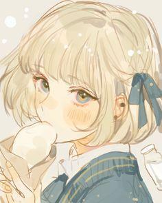 Anime Drawings Sketches, Anime Sketch, Cute Drawings, Kawaii Anime, Kawaii Art, Cartoon Kunst, Cartoon Art, Anime Art Girl, Manga Art