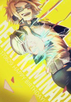 Boku no Hero Academia || Kaminari Denki