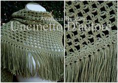 croche shawl xale corhce scialle uncinetto