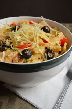 For the Love of Dessert: Chicken Cesar Pasta Salad