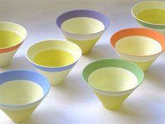 Leach Pottery St Ives - Fiesta - little pots of colour