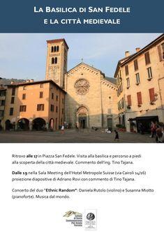 La Basilica di San Fedele e la città medievale