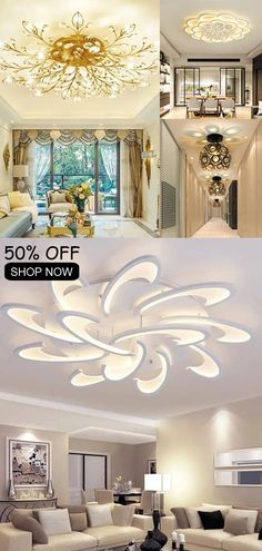 Led Ceiling Lights, Ceiling Lamp, Wall Lights, Luxury Home Decor, Luxury Homes, Duplex House Design, Foyer Ideas, Chic Bedding, Aesthetic Room Decor