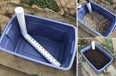 Como hacer una jardinera con riego por capilaridad