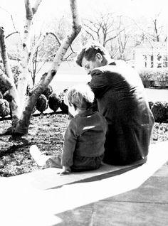 JFK and John Jr.