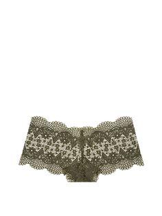 The Crochet Lace Sexy Shortie - Body by Victoria - Victoria's Secret $25