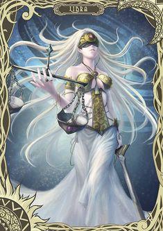 Libra by Simi Chiu on ArtStation. Anime Zodiac, Zodiac Art, Libra Zodiac, Zodiac Signs, Arte Libra, Libra Art, Zodiac Characters, Fantasy Characters, Dark Fantasy Art