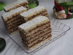 Kipróbált és bevált receptek ...: Hatlapos kakaós szelet Tiramisu, Cake, Ethnic Recipes, Food, Drink Recipes, Yogurt, Mudpie, Hungary, Pie
