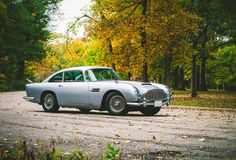 James Bond's Aston Martin DB5 is for sale - Aston Martin with Carrozeria Touring used Superleggera, a technique of stretching lightweight aluminum over rigid tubular frame to create this thing of beauty.
