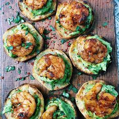 Hi! It's Teri from @nocrumbsleft. These shrimp bites were easy, delicious and OH so satisfying! Slices of sweet potatoes topped with avocado crema and griddled chipotle shrimp are a winning combination. It's a fantastic appetizer, although we enjoyed it for a festive weeknight dinner with a beautiful green salad. For more wonderful Whole30 recipes, check out my Instagram Stories and feed @nocrumbsleft. . Ingredients •2 Japanese sweet potatoes •2 T olive oil . Shrimp •1 lb large raw shrimp…