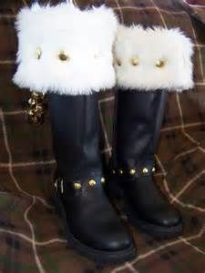 Custom Made Santa Claus Boots - Bing images