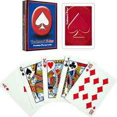 Trademark Poker Premium Playing Cards - Walmart.com