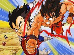 Vegeta vs Goku \o\