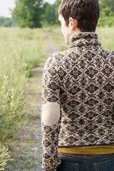 Ravelry: Maeby pattern by pamela wynne  (dying over the elbow patch!!!)
