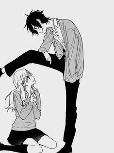 Hori Kyoko, Miyamura Izumi. (manga: Horimiya)