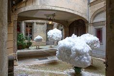 Head in the Clouds forma parte de un festival de arquitectura en Francia.