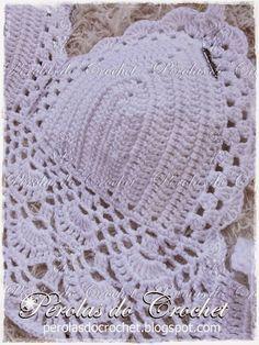 * Pérolas do Crochet: Cropped em crochet