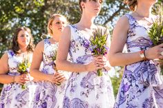 A Provence-inspired lavender country wedding by a guy + a girl photography - Wedding Party Wedding Pics, Wedding Day, Wedding Dresses, Girl Photography, Wedding Photography, Patterned Bridesmaid Dresses, Provence Lavender, Luxury Wedding, Bride Groom