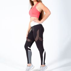 It's time to get back into shape with our Speedway Club Workout Leggings ! They feature snug tummy control, lightweight + sweat wicking fabric, sexy mesh, & the compression you need to keep running into the summer! Abs Workout Routines, Running Workouts, Workout Videos, Core Workout Challenge, Mesh Leggings, Track And Field, 15 Minute Workout, Love Handle Workout, Athletic Women