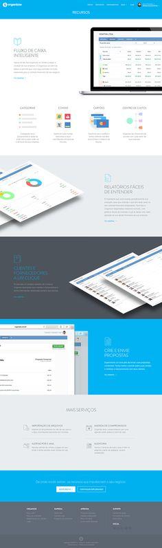 Redesign Organizze Empresas on Behance