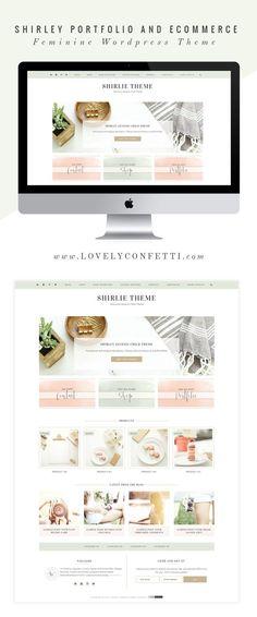 shirley-portfolio-and-ecommerce-genesis-child-theme-feminine-wordpress-theme