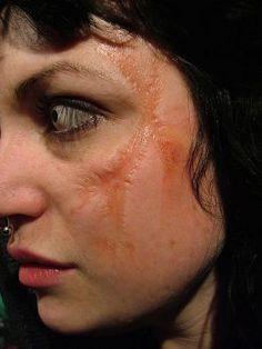 Ben Nye  rigid collodion scar makeup - just sayin