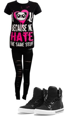 """Untitled #190"" by deadly-dreamer ❤ liked on Polyvore"