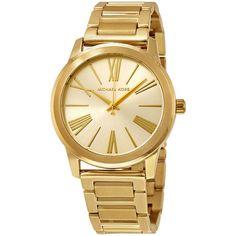 Hartman Gold-Tone Stainless Steel Ladies Watch