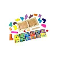 Jöhet egy gyors játék vacsi után, lefekvés előtt - vagy tulajdonképpen bármikor? 😎 A Katamino Family 1 vagy 2 játékos számára ideális, pörgős térbeli tetris. Meghatározott területet kell kitölteni, a feladványban meghatározott tetris-formákkal. Ha párban játszotok, versenyezzetek: nézzétek meg, ki az aki hamarabb kirakja. A játék 3 féle képpen is játszható! Triangle, Games, Plays, Game, Spelling, Gaming