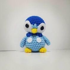 Piplup! #crochet #amigurumi #pokemon #piplup