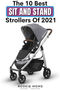 10 Best Sit and Stand Strollers of 2021! Wondering about the hype of Sit and Stand Strollers? We are definitely fans and we broke down our top 10 Sit and Stand Strollers of 2021 to show you why! #strollers #bestof2021 #momofmultiples Baby Hacks, Baby Tips, Abc For Kids, Family Organizer, Baby Must Haves, Craft Activities For Kids, Baby Sleep, Baby Gear, Family Life