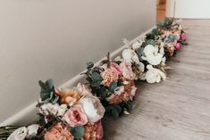 Bridal bouquet and bridesmaid bouquet, of native flowers and wildflowers of protea, roses, eucalyptus, peony, in pink and orange at Manly, Milestone Events by Sydney Wedding Florist, Erichsen Botanica  Photography by Lucie Weddings Eucalyptus Bouquet, Sydney Wedding, Bridesmaid Bouquet, Wildflowers, Peony, Wedding Flowers, Floral Wreath, Roses, Events