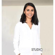 StudioAnna - Houzma #studioanna_paris #nikon #d810 #portrait #woman #studioshoot #natural #white