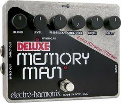 Electro-Harmonix Deluxe Memory Man Analogue Delay Pedal XO by Electro-Harmonix. $314.40. Save 25%!