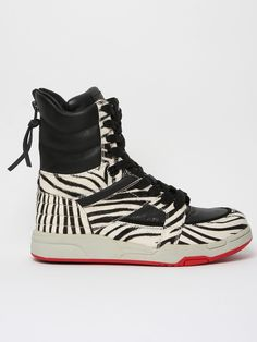 DIET BUTCHER SLIM SKIN, AW11 ZEBRA HIGH TOPS: fukatami has lost his mind.