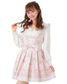797568162e4 LIZ LISA x My Melody - Letter Print Dress  LizLisa  dress Liz Lisa