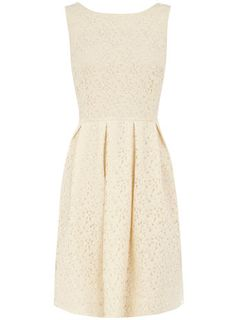 Dorothy Perkins  Ivory lace   This would be really cute for a shower/rehearsal dinner!
