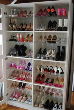 I will have a shoe closet like this