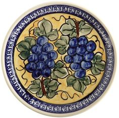EuroQuest Imports Bunzlauer Appetizer/Dessert Plate, 7 inch by EuroQuest Imports, Inc.. $19.00. Fired at temperatures above 2,300 degrees f creating long-lasting beauty. Bunzlauer stoneware 7 inch appetizer/dessert plate made in boleslawiec, poland. Lead-free; safe in oven, microwave and dishwasher. Displays artisans initials and unique zaklady back stamp. Measures 7 inches. This 7 inch Bunzlauer appetizer/dessert plate by EuroQuest in DU8 pattern has a charming...