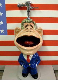 George Bush Urinal lol such a duche Walk In Bathtub, Bathtub Drain, World Toilet Day, Toilette Design, Drain Repair, Bathroom Humor, Bathroom Goals, Bathroom Fixtures, Oeuvre D'art