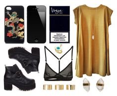 """Dragon case"" by baludna ❤ liked on Polyvore featuring Vivienne Tam, Alexander Yamaguchi, ASOS, Zoya and Better Late Than Never"