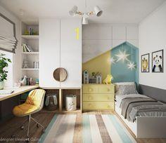 Cool Kids Bedrooms, Kids Bedroom Designs, Boys Bedroom Decor, Small Room Bedroom, Teen Room Decor, Small Bedrooms, Study Room Decor, Study Room Design, Home Room Design