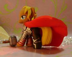 Avengers Thor Custom Blind Bag My Little Pony by SanadaOokmai.deviantart.com on @DeviantArt