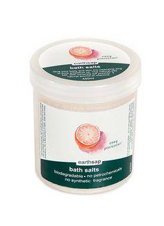 BEST BUY - GET 20% OFF   Earthsap Bath Salts Ruby Grapefruit   Organica