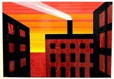 """""""Factory smoke"""" tape art"""