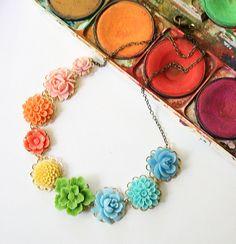 Color wheel necklace | Flickr: partage de photos!